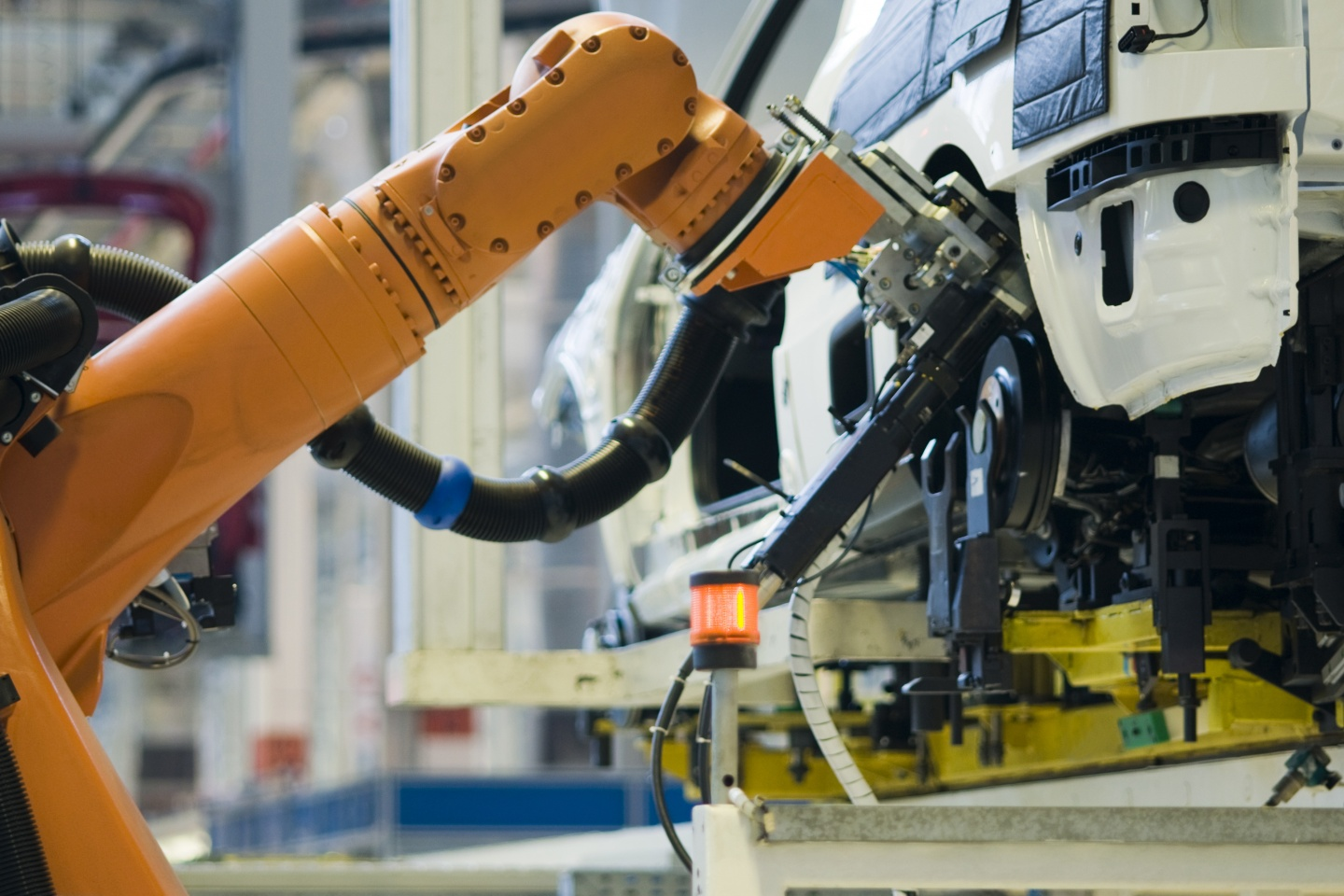 Robot Automobile Industry