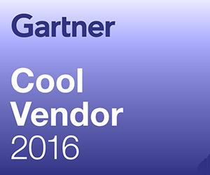Gartner Cool Vendor 2016