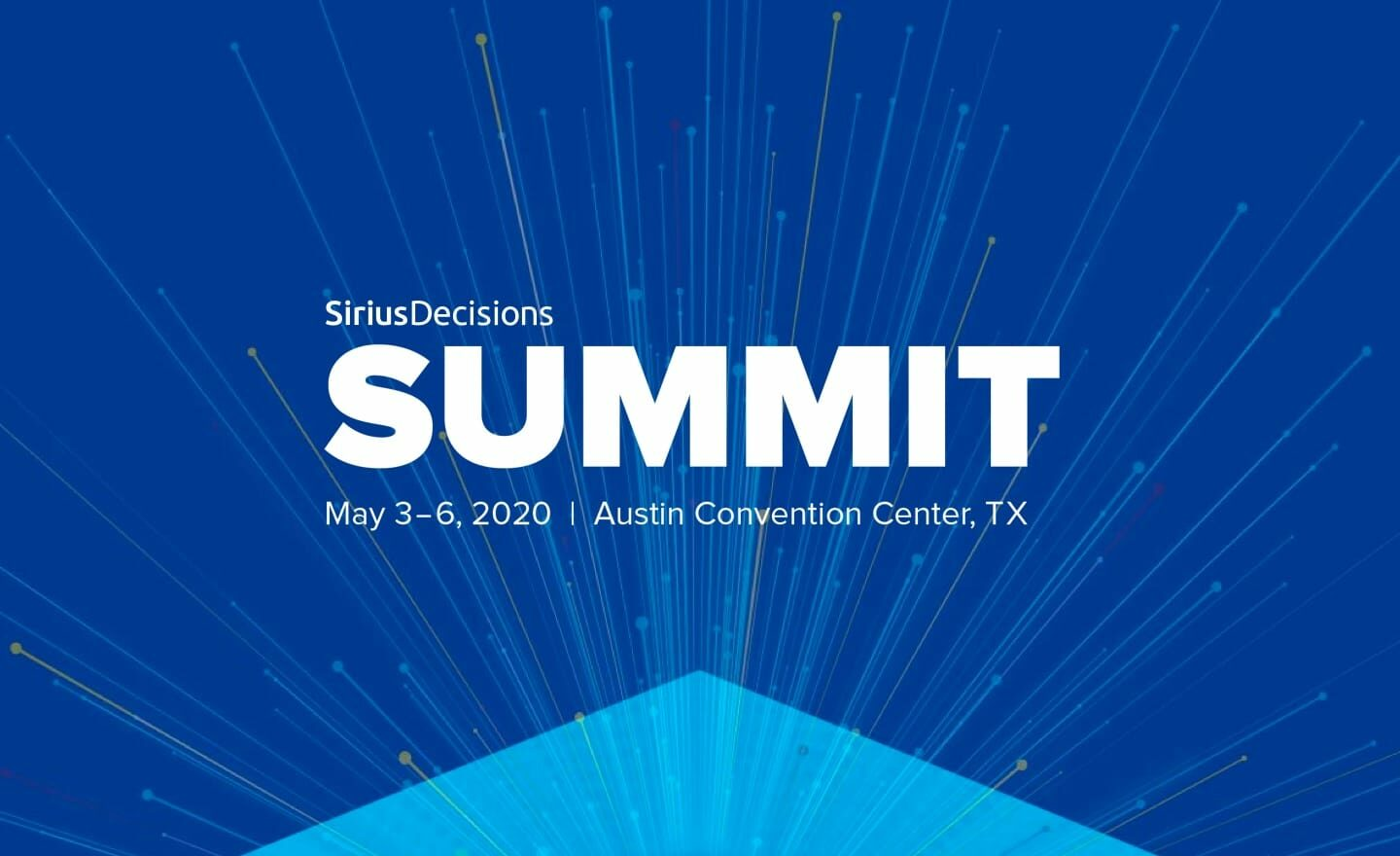 SiriusDecisions Summit 2020